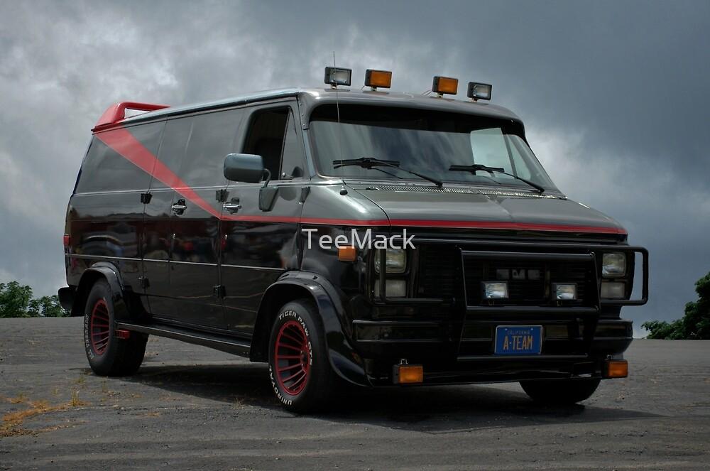 A-Team Van Replica by TeeMack