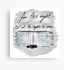 The Night Watch Canvas Print