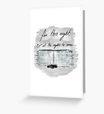 The Night Watch Greeting Card