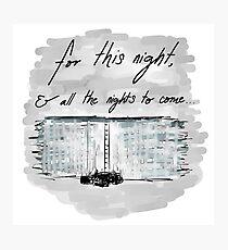 The Night Watch Photographic Print