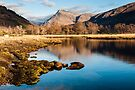 Glen Etive Reflections by Mark Greenwood