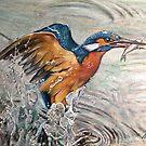 """Kingfishing"" 2015 by Skye Elizabeth  Tranter"
