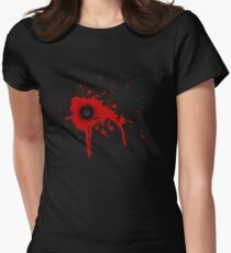 Capped Womens Fitted T-Shirt