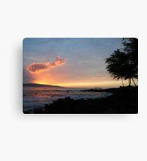 Makena Beach Maui Canvas Print