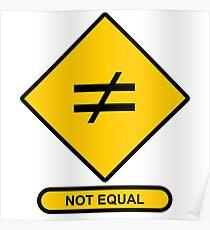 Image result for not equal sign