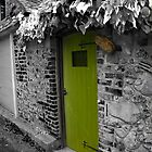 By the way - Green door by Paul Morris
