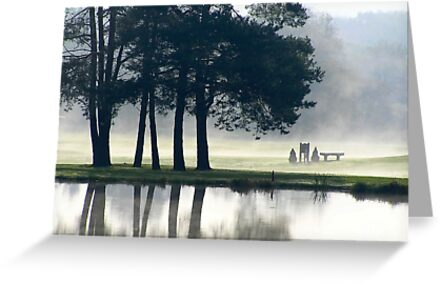 Genegantslet Golf Club by Christina Rollo