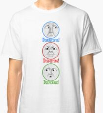The 3 Big Engine's (The 3 D's) Classic T-Shirt