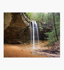 Ash Cave, Hocking Hills State Park, Ohio Photographic Print