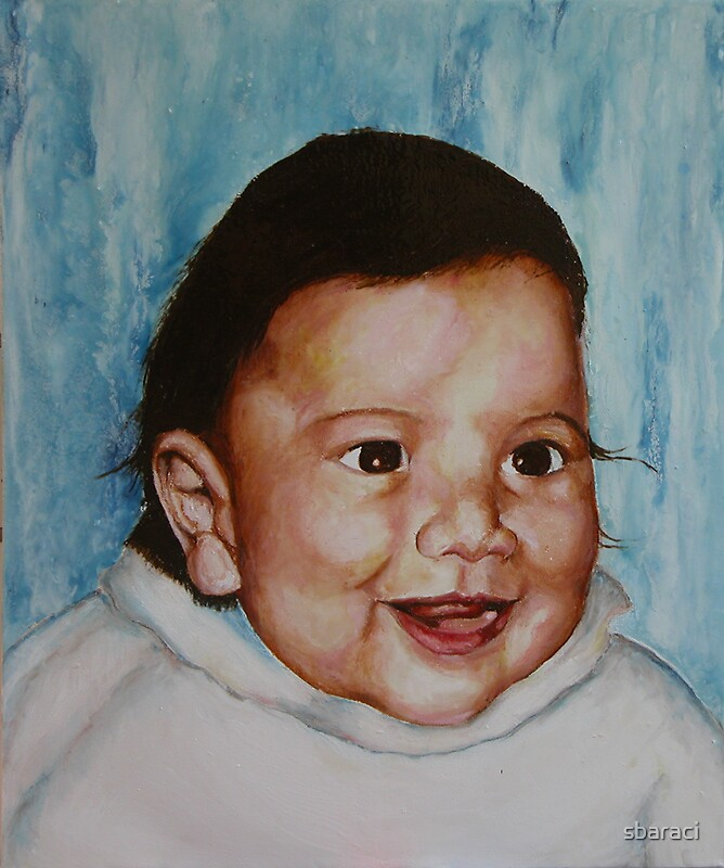 Baby Portrait Comission by sbaraci