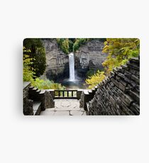 Taughannock Falls Overlook New York Landscape Canvas Print