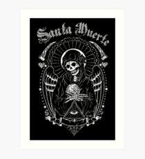 Holy Death Santa Muerte T-shirt Print Art Print