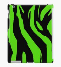 Psychobilly - Green Zebra Print iPad Case/Skin
