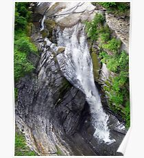 Taughannock Falls Upper Rim Trail Poster
