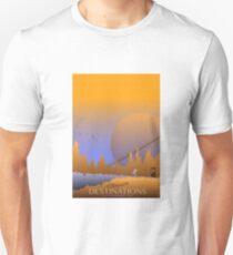 Destinations for the Discerning Intergalactic Traveller T-Shirt