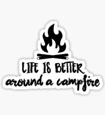 CAMP Campfire Sticker