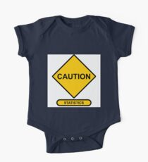 Sign   Caution   Statistics One Piece - Short Sleeve
