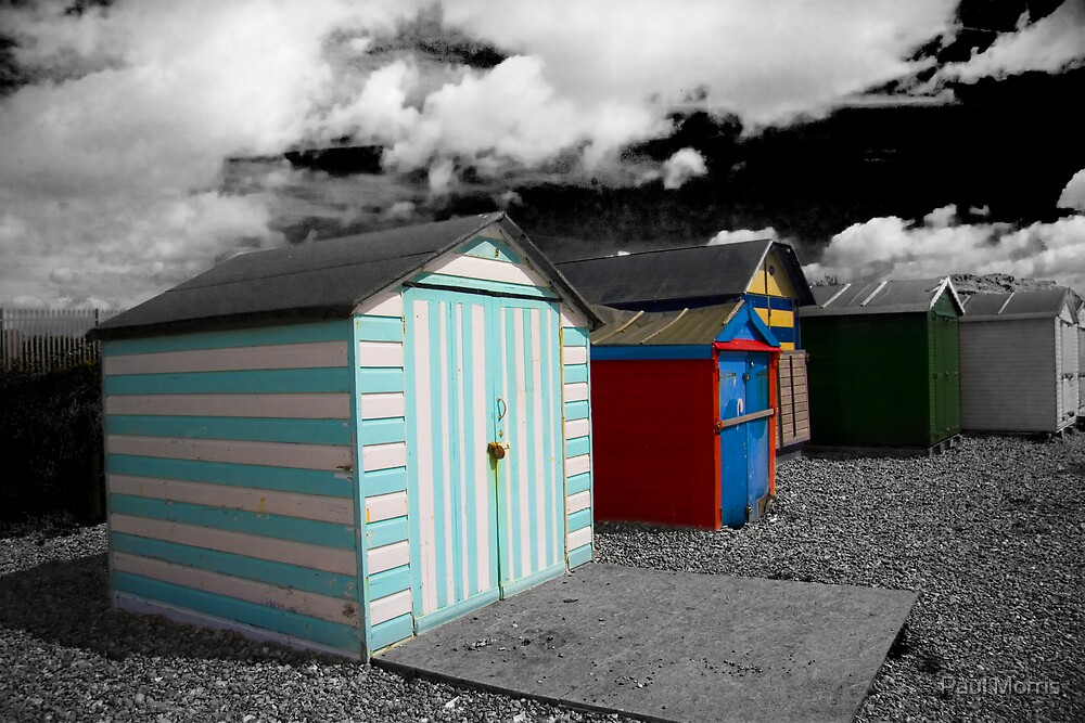 Beach Huts - Bexhill On Sea by Paul Morris