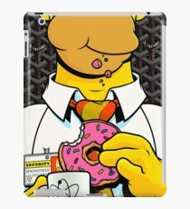 Homer Simpson with Goyard iPad Case/Skin