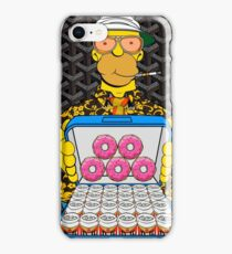 Homer Simpson with Goyard iPhone Case/Skin