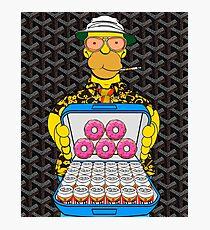Homer Simpson with Goyard Photographic Print