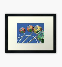 Ferris Wheel in the Sky Framed Print