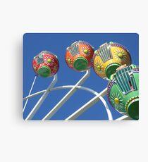 Ferris Wheel in the Sky Canvas Print