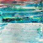 Miami Beach Watercolor #5 by ANoelleJay