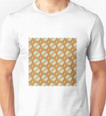 orange lemon pattern Unisex T-Shirt