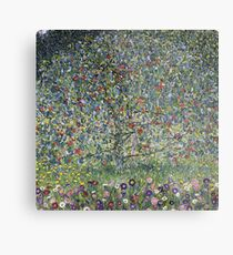 Gustav Klimt - Apple Tree I Metal Print