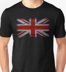 Vintage Peeling Union Jack T-Shirt