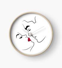 Lineart Lovers Clock