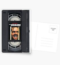 VHS Shining Case Postcards