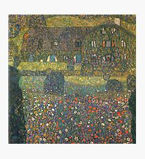 Gustav Klimt - Country House By The Attersee Photographic Print