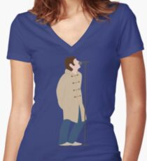 Liam Gallagher You're My Wonderwall Women's Fitted V-Neck T-Shirt