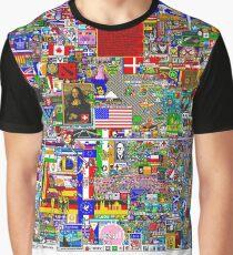 r/place - Reddit April 1st Celebration Graphic T-Shirt