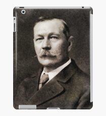 Sir Arthur Conan Doyle, Literary Legend iPad Case/Skin