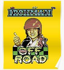 Gaming [C64] -  Ivan 'Ironman' Stewart's Super Off Road Poster