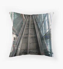 Urbis Elevator. Throw Pillow