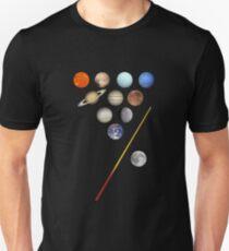 Solar System Billiards / Pool / Snooker  Unisex T-Shirt