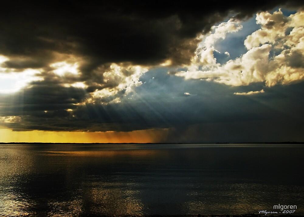 Sun vs. Clouds by mlgoren