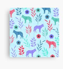 Forest Animal and Nature Canvas Print