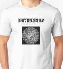 John's Treasure Map Unisex T-Shirt