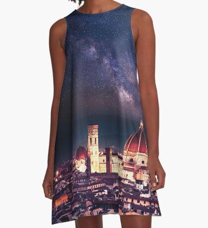 firenze skyline A-Line Dress
