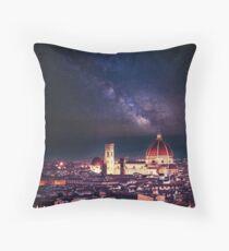 firenze skyline Throw Pillow