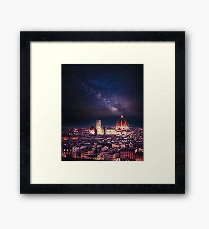 firenze skyline Framed Print