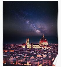 firenze skyline Poster