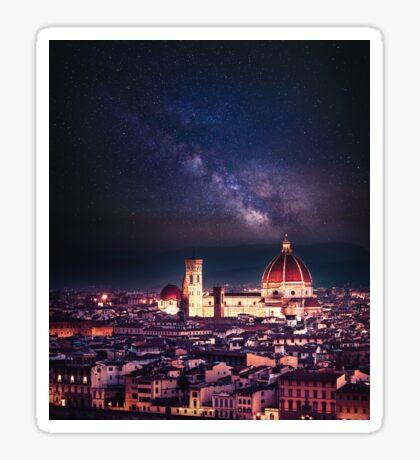 firenze skyline Sticker