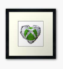 Iron Heart Of Xbox Framed Print