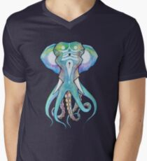 Octophant Men's V-Neck T-Shirt